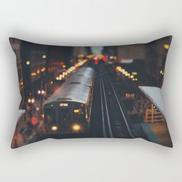 Chicago South Loop photograph Rectangular Pillow