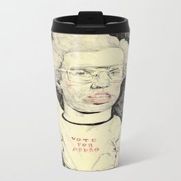 Napoleon Dynamite Metal Travel Mug
