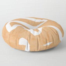 abstract minimal 31 Floor Pillow