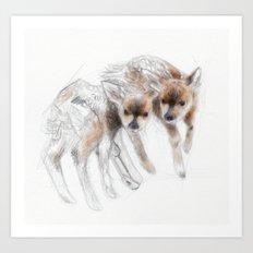 two souls..  Art Print