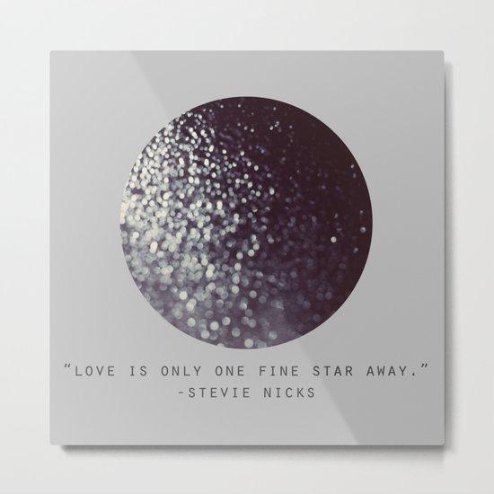 One Fine Star Metal Print