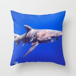 Fish Are Friends, Not Food Throw Pillow