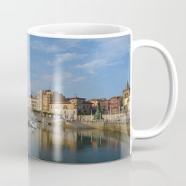 The marina at Gijon, Spain Coffee Mug