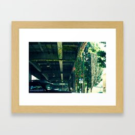 Seattle Alaskan Way Viduct...before..... Framed Art Print