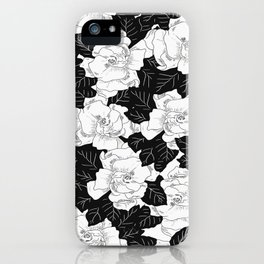 Gardenias iPhone Case
