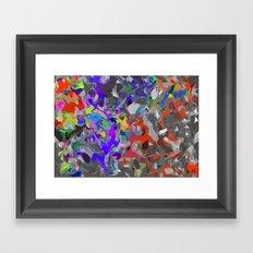 Frenzy Framed Art Print