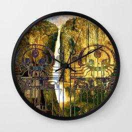 Elvish Places I Wall Clock