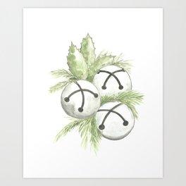 Sleigh Bells Art Print