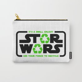 Star - Use your force to recycle - Wars Carry-All Pouch