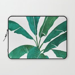 banana leaf watercolor Laptop Sleeve