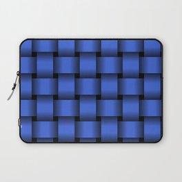 Large Royal Blue Weave Laptop Sleeve