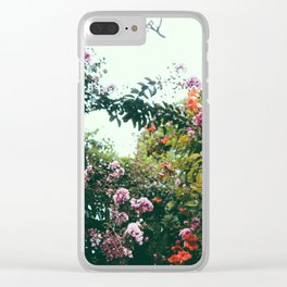 flwrs. Clear iPhone Case