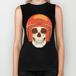 Helmet Skull Biker Tank