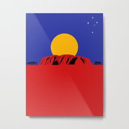 Southern Land Metal Print