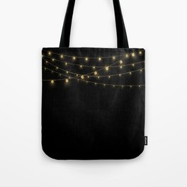 Gold rich Glitter Chain- Treasure Sparkle Tote Bag