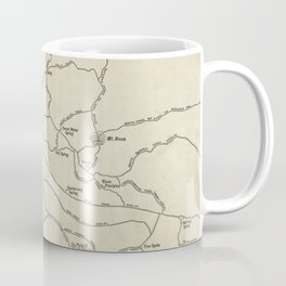 Vintage Mount Monadnock Trail Map (1910) Coffee Mug