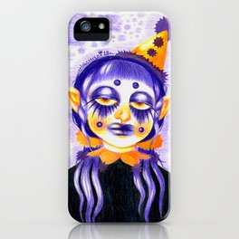 Goth Clowns Only iPhone Case