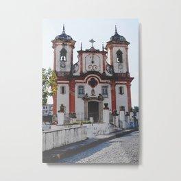 Igreja Matriz Nossa Senhora da Conceição Metal Print