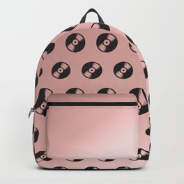 Records in Rose Gold Backpack