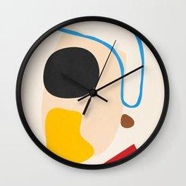 Abstract Shapes 57 Wall Clock