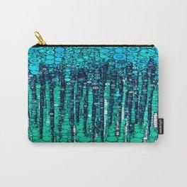 :: Blue Ocean Floor :: Carry-All Pouch