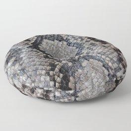 Snake Skin Floor Pillow