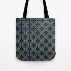 Metallic Deco Blue Tote Bag