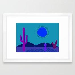 Swelterin' in the Southwest Framed Art Print