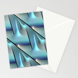 3D - abstraction -82- Stationery Cards