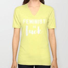 Feminist as F*ck Unisex V-Neck
