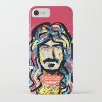 zappa iPhone & iPod Cases featuring Zappa by Tolga Hirsova