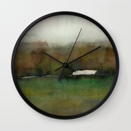 Distant Shelter Wall Clock