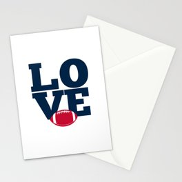 LOOVE football Stationery Cards