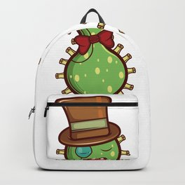 Cultured Bacteria Microbiologist Gift Backpack