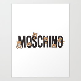 Moschino Art Print
