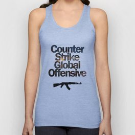 Counter Strike - Global Offensive  Unisex Tank Top