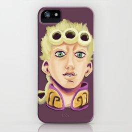 Giorno Giovanna iPhone Case