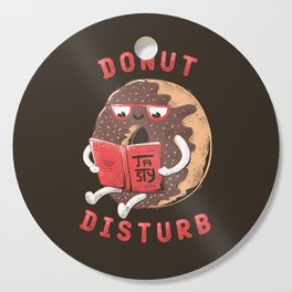 Donut Disturb Cutting Board