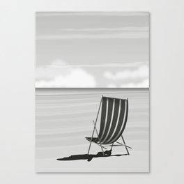 Vintage Deck chair Canvas Print