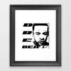 DRE BEATS Framed Art Print