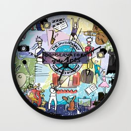 Conservatory Blanket Wall Clock