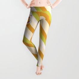 Dessert - FLAN-tastic and evil bad pun Leggings