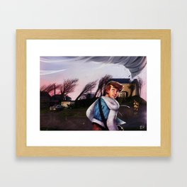 Luke's Head Framed Art Print