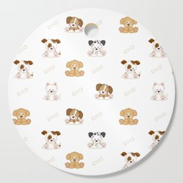 Puppy Dog Baby Nursery Wall Art Cutting Board