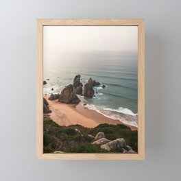 Ursa's Beach Framed Mini Art Print