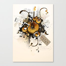 The Music Machine Canvas Print