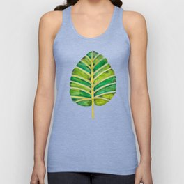 Elephant Ear Alocasia – Green Palette Unisex Tank Top