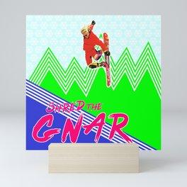 Shred the GNAR 03 Mini Art Print