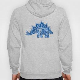 Stegosaurus Lace - Blue Hoody