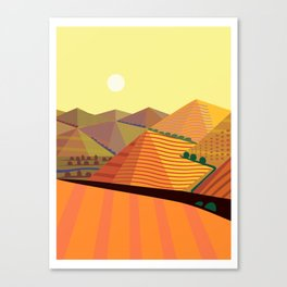 Valle de Guadelupe Tranquilo Canvas Print